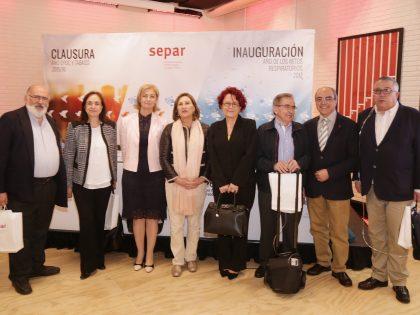 Presentación del Años SEPAR a socios y prensa