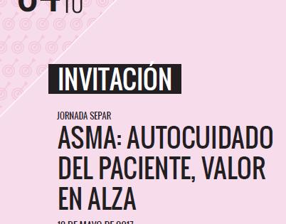 Te invitamos a la Jornada Separ para pacientes de asma en Madrid
