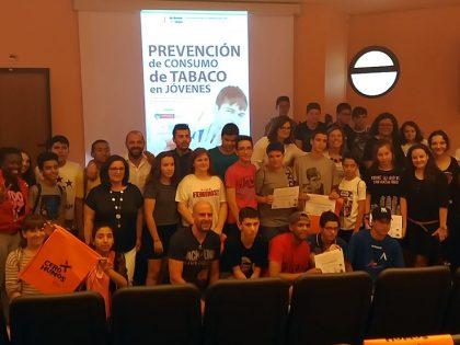 Ganadores del Concurso de Vídeos de Prevención del consumo del Tabaco en el Hospital Mancha Centro