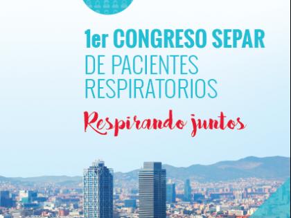Ya puedes inscribirte en el I Congreso SEPAR de pacientes respiratorios
